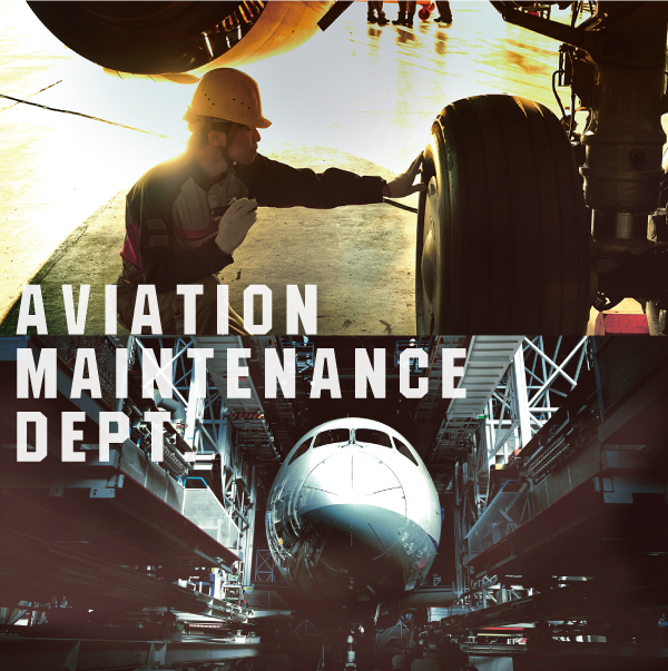 AVIATION MAINTENANCE DEPT.